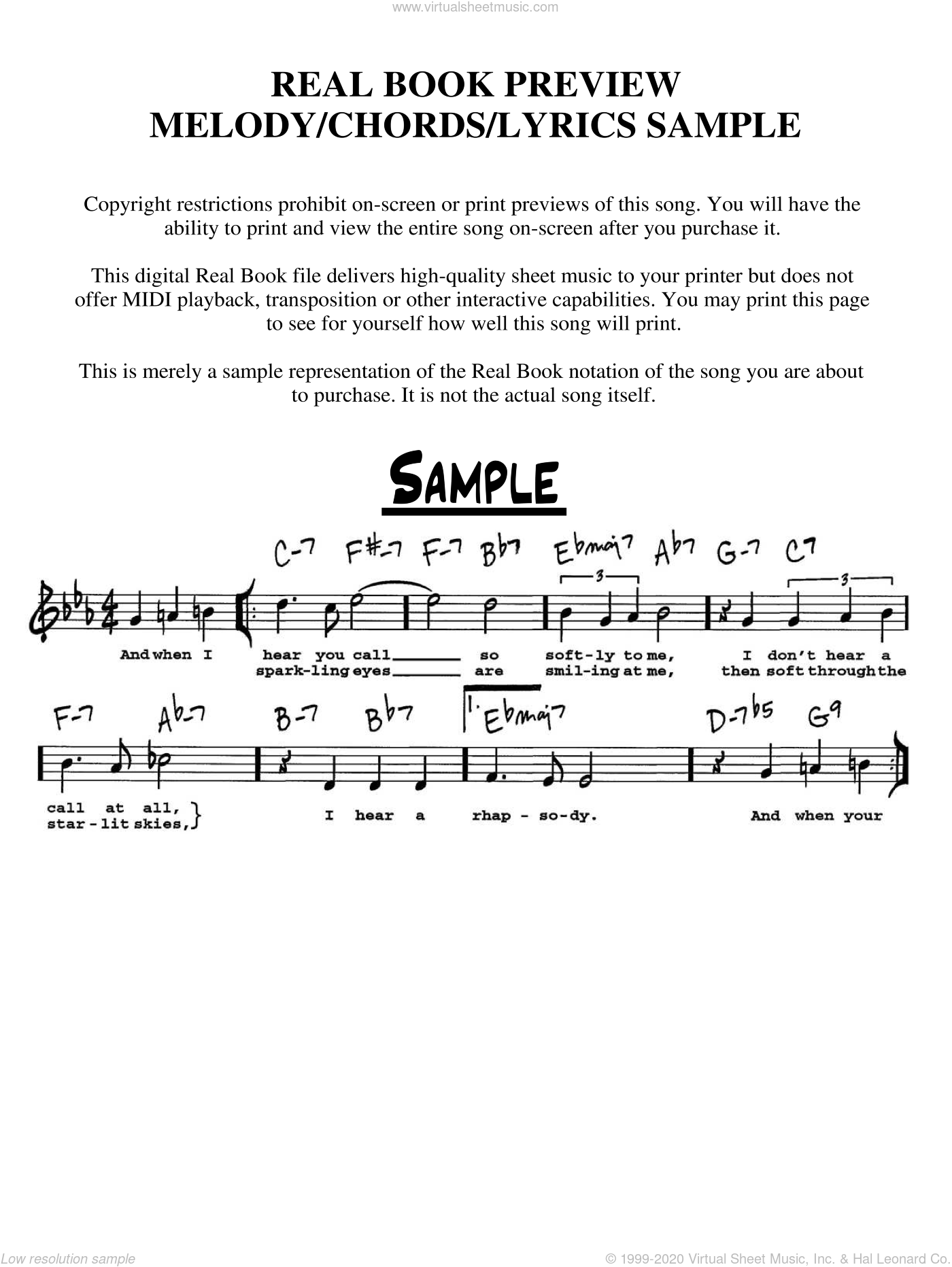Look For The Silver Lining sheet music for voice and other instruments  by Jerome Kern and Buddy DeSylva, intermediate skill level