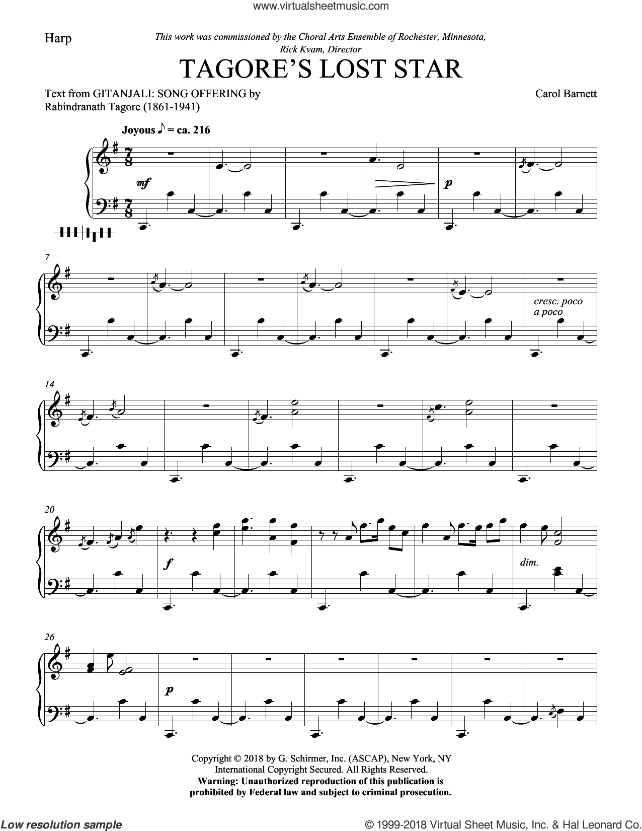 The Ghost's Story sheet music for orchestra/band (marimba) by Dominick DiOrio and Duncan Campbell Scott, intermediate skill level