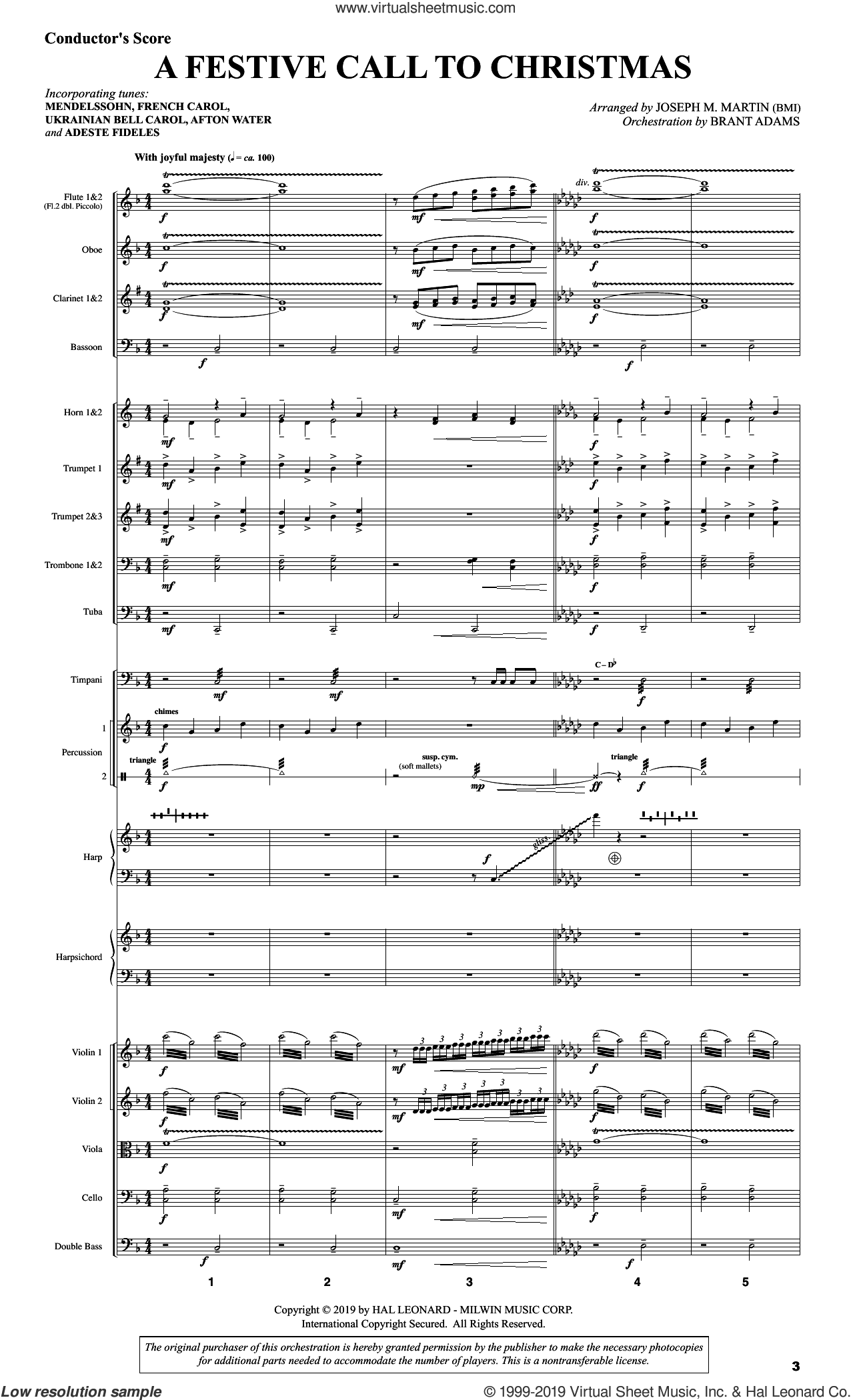 And There Was Light (COMPLETE) sheet music for orchestra/band by Joseph M. Martin and Brad Nix, intermediate skill level