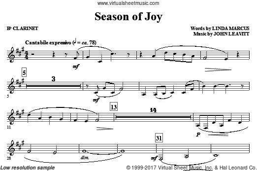 Season Of Joy (COMPLETE) sheet music for orchestra by Linda Marcus