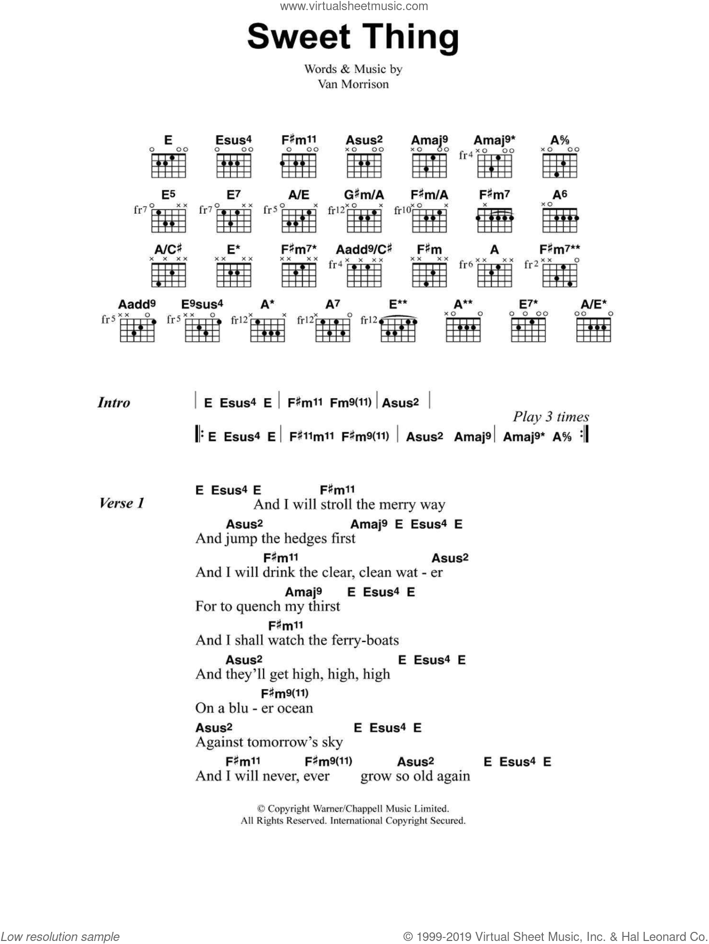 Sweet Thing sheet music for guitar (chords) by Jeff Buckley. Score Image Preview.