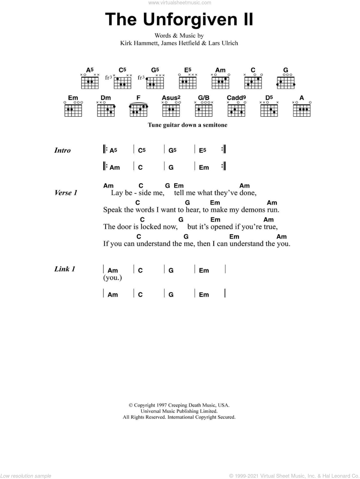 Unique Demons Guitar Chords Ornament - Beginner Guitar Piano Chords ...