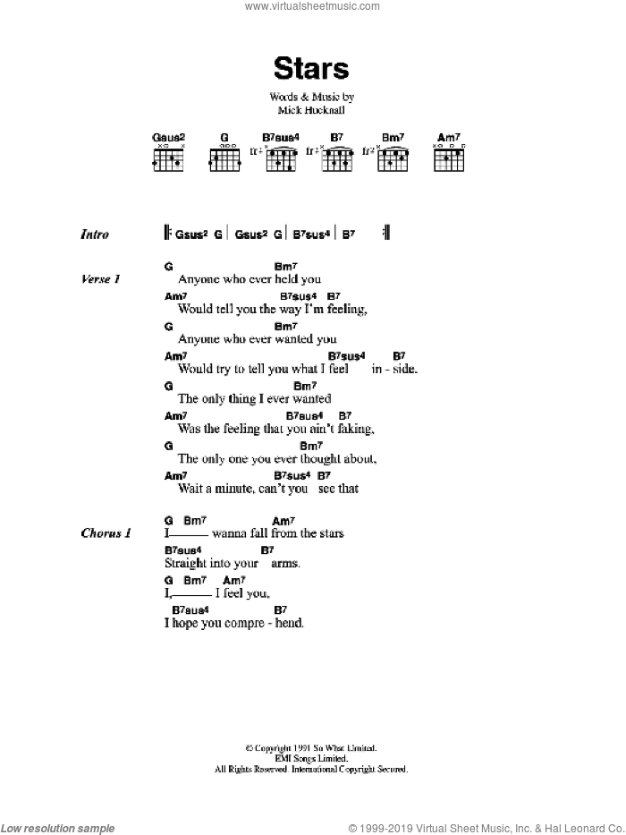 Red Stars Sheet Music For Guitar Chords Pdf