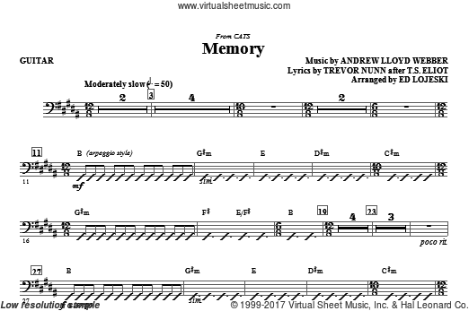 Memory (from Cats) (COMPLETE) sheet music for orchestra by Andrew Lloyd Webber