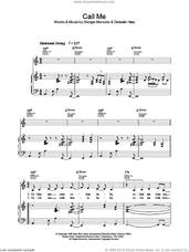 Cover icon of Call Me sheet music for voice, piano or guitar by Lea DeLaria, intermediate skill level