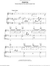 Cover icon of Joanna sheet music for voice, piano or guitar by Scott Walker, intermediate skill level