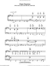 Cover icon of Chain Reaction sheet music for voice, piano or guitar by Diana Ross, intermediate skill level
