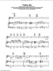 Cover icon of Follow Me sheet music for voice, piano or guitar by Craig David, intermediate skill level