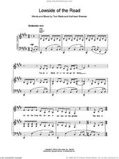 Cover icon of Lowside of the Road sheet music for voice, piano or guitar by Tom Waits, intermediate skill level