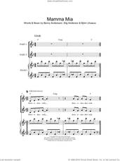 Cover icon of Mamma Mia (arr. Rick Hein) sheet music for choir by ABBA, Rick Hein, Benny Andersson, Bjorn Ulvaeus, Miscellaneous and Stig Anderson, intermediate skill level