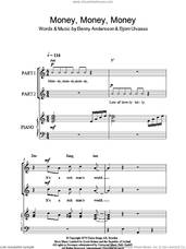 Cover icon of Money, Money, Money (arr. Rick Hein) sheet music for choir (2-Part) by ABBA, Rick Hein, Benny Andersson and Bjorn Ulvaeus, intermediate duet