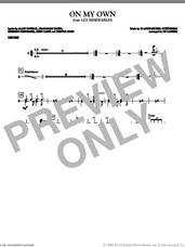 Cover icon of On My Own (from Les Miserables) (arr. Ed Lojeski) sheet music for orchestra/band (drums) by Boublil and Schonberg, Alain Boublil, Claude-Michel Schonberg, Herbert Kretzmer, Jean-Marc Natel, John Caird, Trevor Nunn and Ed Lojeski, intermediate skill level