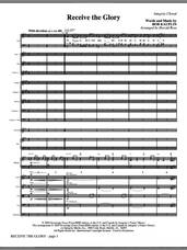 Cover icon of Receive The Glory (COMPLETE) sheet music for orchestra/band (Orchestra) by Harold Ross and Bob Kauflin, intermediate skill level