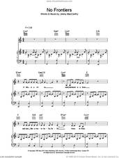 Cover icon of No Frontiers sheet music for voice, piano or guitar by The Corrs, intermediate skill level
