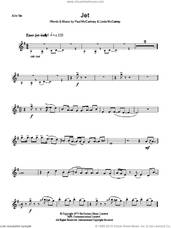 Cover icon of Jet sheet music for voice and other instruments (fake book) by Paul McCartney, Paul McCartney and Wings and Linda McCartney, intermediate skill level
