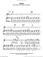Cover icon of Stellify sheet music for voice, piano or guitar by Ian Brown and Dave McCracken, intermediate skill level