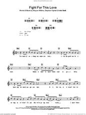 Cover icon of Fight For This Love sheet music for voice and other instruments (fake book) by Cheryl Cole, Andre Merritt, Steve Kipner and Wayne Wilkins, intermediate skill level