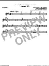 Cover icon of Lean On Me (complete set of parts) sheet music for orchestra/band by Bill Withers, Adam Anders, Glee Cast, Miscellaneous, Roger Emerson and Tim Davis, intermediate skill level