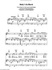 Cover icon of Bad To Me sheet music for voice, piano or guitar by Paul McCartney, The Beatles and LENNON, intermediate skill level