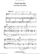 Cover icon of You're The One sheet music for voice, piano or guitar by Paul Simon, intermediate skill level