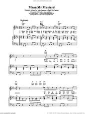 Cover icon of Mean Mr. Mustard sheet music for voice, piano or guitar by Paul McCartney, The Beatles and LENNON, intermediate skill level