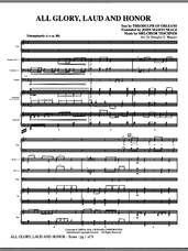 Cover icon of All Glory, Laud And Honor (COMPLETE) sheet music for orchestra/band (Special) by Douglas E. Wagner, intermediate skill level