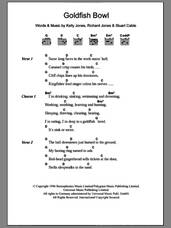 Cover icon of Goldfish Bowl sheet music for guitar (chords) by Stereophonics, Kelly Jones, Richard Jones and Stuart Cable, intermediate skill level
