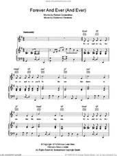 Cover icon of Forever And Ever (And Ever) sheet music for voice, piano or guitar by Engelbert Humperdinck, Robert Costandinos and Stylianos Vlavianos, intermediate skill level