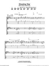 Cover icon of Shooting Star sheet music for guitar (tablature) by Bob Dylan, intermediate skill level