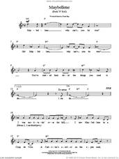 Cover icon of Maybellene sheet music for voice and other instruments (fake book) by Chuck Berry, ALAN FREED and Russ Fratto, intermediate skill level