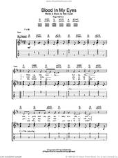 Cover icon of Blood In My Eyes sheet music for guitar (tablature) by Bob Dylan, intermediate skill level