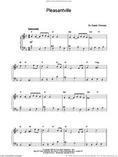 Cover icon of Pleasantville sheet music for piano solo by Randy Newman, intermediate skill level