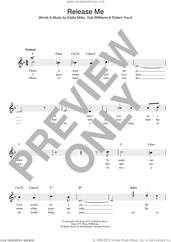 Cover icon of Release Me sheet music for voice and other instruments (fake book) by Engelbert Humperdinck, Esther Phillips, Johnny Adams, Tom Jones, Guster and Robbie Williams, intermediate skill level