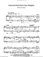 Cover icon of Evan And God sheet music for piano solo by John Debney, intermediate skill level