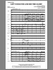 Cover icon of Lift Your Eyes And See The Glory (complete set of parts) sheet music for orchestra/band (Orchestra) by Joseph M. Martin and Rowland Prichard, intermediate skill level