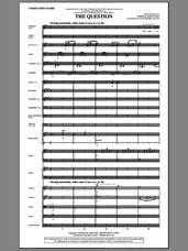Cover icon of The Question (complete set of parts) sheet music for orchestra/band (Orchestra) by Joseph M. Martin, intermediate skill level