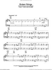 Cover icon of Broken Strings sheet music for piano solo by James Morrison, Fraser T. Smith and Nina Woodford, easy skill level