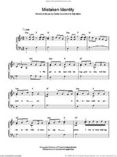 Cover icon of Mistaken Identity sheet music for piano solo by Delta Goodrem and Billy Mann, easy skill level