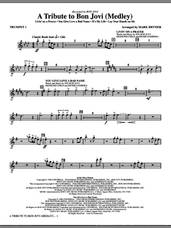 Cover icon of A Tribute To Bon Jovi (Medley) (complete set of parts) sheet music for orchestra/band by Bon Jovi, Martin Sandberg, Richie Sambora and Mark Brymer, intermediate skill level