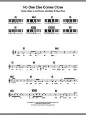 Cover icon of No One Else Comes Close sheet music for piano solo (chords, lyrics, melody) by Backstreet Boys, Gary Baker, Joe Thomas and Wayne Perry, intermediate piano (chords, lyrics, melody)