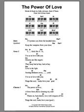 Cover icon of The Power Of Love sheet music for piano solo (chords, lyrics, melody) by Peter Gill, Brian Nash and Holly Johnson, intermediate piano (chords, lyrics, melody)