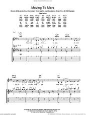 Cover icon of Moving To Mars sheet music for guitar (tablature) by Coldplay, Brian Eno, Chris Martin, Guy Berryman, Jon Buckland and Will Champion, intermediate skill level