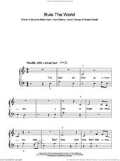 Cover icon of Rule The World sheet music for piano solo by Take That, Gary Barlow, Howard Donald, Jason Orange and Mark Owen, easy skill level