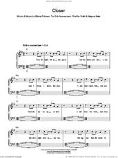 Cover icon of Closer sheet music for piano solo by Ne-Yo, Magnus Beite, Mikkel Eriksen, Shaffer Smith and Tor Erik Hermansen, easy skill level