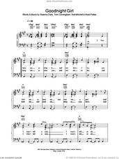 Cover icon of Goodnight Girl sheet music for voice, piano or guitar by Clark,G, Wet Wet Wet, Mitchell,N & Pellow,M and Tom Cunningham, intermediate skill level