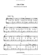 Cover icon of Like A Star sheet music for piano solo by Corinne Bailey Rae, easy skill level