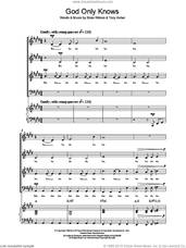 Cover icon of God Only Knows sheet music for choir (SATB: soprano, alto, tenor, bass) by The Beach Boys, Brian Wilson and Tony Asher, intermediate skill level