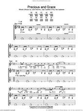 Cover icon of Precious And Grace sheet music for guitar (tablature) by Queens Of The Stone Age, Joey Castillo, Josh Homme and Troy Van Leeuwen, intermediate skill level