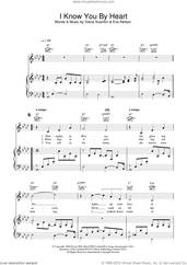 Cover icon of I Know You By Heart sheet music for voice, piano or guitar by Eva Cassidy, Diane Scanlon and Eve Nelson, intermediate skill level