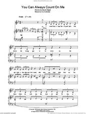 Cover icon of You Can Always Count On Me (from City Of Angels) sheet music for voice, piano or guitar by Cy Coleman and David Zippel, intermediate skill level